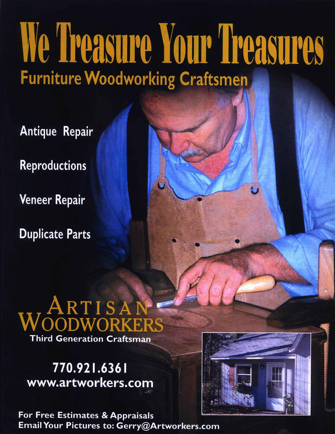 artisan furniture and woodworking